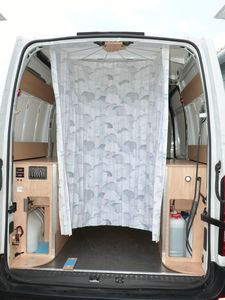 Transformer un renault master iii en camping car for Cabine wc exterieur