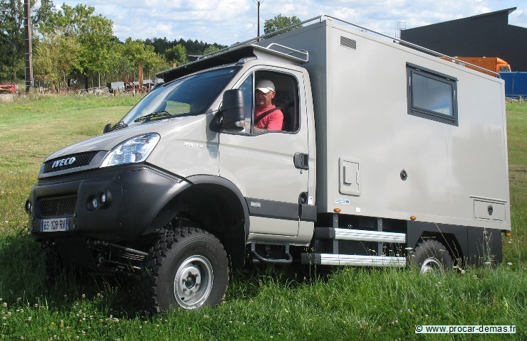 iveco 4x4 scamscam camping car autos post. Black Bedroom Furniture Sets. Home Design Ideas