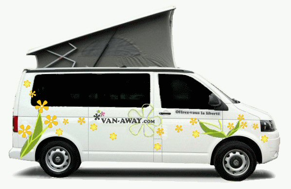 van away location vans et fourgons am nag s campervan et volkswagen california toulouse et. Black Bedroom Furniture Sets. Home Design Ideas